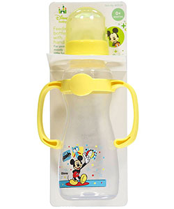 "Disney ""Fun with Mickey"" Feeding Bottle with Handles (8 oz.) - CookiesKids.com"