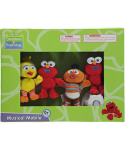 "Sesame Beginnings ""Elmo & Friends"" Musical Mobile - CookiesKids.com"