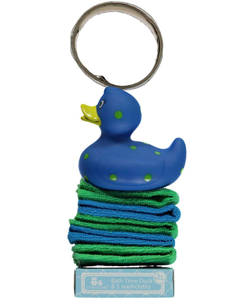 Cribmates Bathtime Duck & Washcloths Set - CookiesKids.com