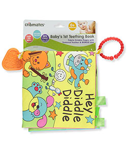"Cribmates ""Hey Diddle Diddle!"" Teething Book - CookiesKids.com"