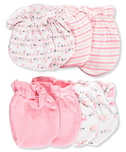 Cribmates Baby Girls' 4-Pack Scratch Mitts - CookiesKids.com