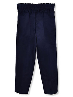 Rifle Little Boys' Fully Elastic Pull-On Flat Front Pants (Sizes 4 - 7) - CookiesKids.com