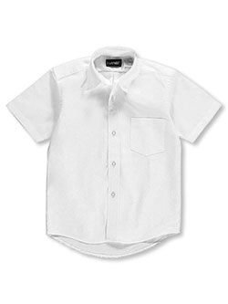 Kaynee Big Boys' S/S Button-Down Shirt (Sizes 8 - 20) - CookiesKids.com