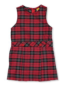 "Rifle/Kaynee Little Girls' ""2-Button"" Jumper (Sizes 4 – 6X) - CookiesKids.com"