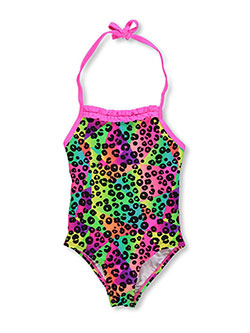 "Freestyle Revolution Little Girls' ""Beach Ball"" 1-Piece Bathing Suit (Sizes 4 – 6X) - CookiesKids.com"