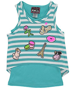 "RMLA Little Girls' ""Glitter Treats"" Top (Sizes 4 – 6X) - CookiesKids.com"