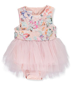 Petite Frais Baby Girls' Dress/Bodysuit Combo - CookiesKids.com