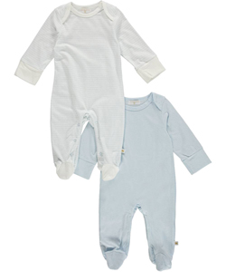 "Rosie Pope Baby Boys' ""Maddox"" 2-Pack Footed Coveralls - CookiesKids.com"