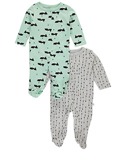 "Rosie Pope Baby Boys' ""Mountaintop"" 2-Pack Footed Coveralls - CookiesKids.com"