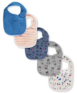 Rosie Pope Baby Girls' 5-Pack Bibs - CookiesKids.com