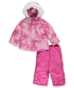"Rothschild Baby Girls' ""Snow Gem"" 2-Piece Snow Suit - CookiesKids.com"