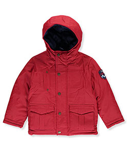"Chaps Little Boys' Toddler ""Raised Pleats"" Insulated Jacket (Sizes 2T – 4T) - CookiesKids.com"