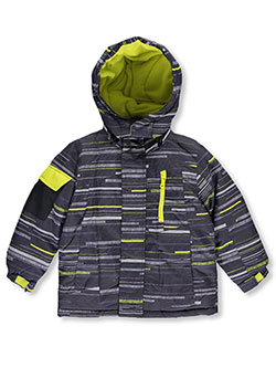 "Chaps Little Boys' Toddler ""Internal Fleece"" 2-Piece Insulated Jacket (Sizes 2T – 4T) - CookiesKids.com"