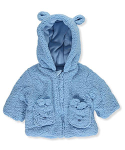 "R. 1881 Baby Boys' ""Cozy Bear"" Sherpa Fleece Jacket - CookiesKids.com"