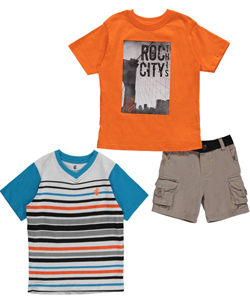 "Rocawear Little Boys' ""Roc City"" 3-Piece Set (Sizes 4 – 7) - CookiesKids.com"