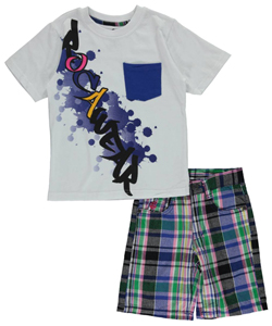 "Rocawear Little Boys' ""Drip Rag"" 2-Piece Outfit (Sizes 4 – 7) - CookiesKids.com"