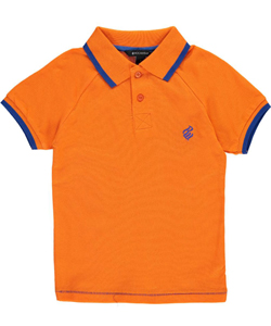 "Rocawear Little Boys' ""Flashbulb"" Pique Polo (Sizes 4 – 7) - CookiesKids.com"