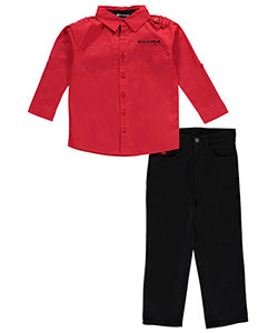"Rocawear Little Boys' ""Classic Chic"" 2-Piece Outfit (Sizes 4 – 7) - CookiesKids.com"