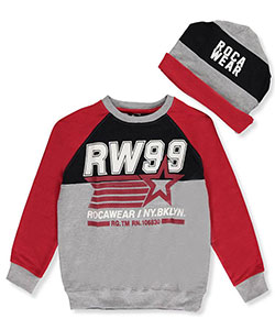 Rocawear Big Boys' Sweatshirt with Beanie (Sizes 8 – 20) - CookiesKids.com