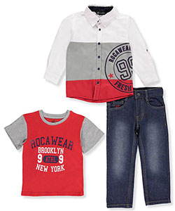 Rocawear Little Boys' Toddler 3-Piece Outfit (Sizes 2T – 4T) - CookiesKids.com