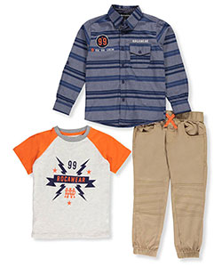 Rocawear Little Boys' 3-Piece Outfit (Sizes 4 – 7) - CookiesKids.com