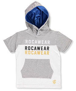 Rocawear Little Boys' S/S Hoodie (Sizes 4 – 7) - CookiesKids.com