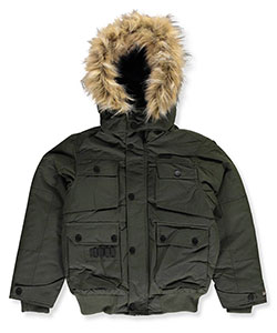 Rocawear Big Boys' Insulated Jacket (Sizes 8 – 20) - CookiesKids.com