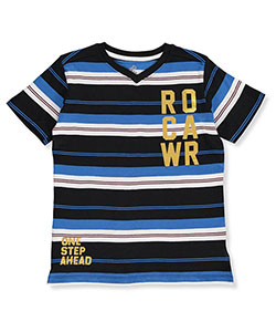 Rocawear Big Boys' S/S V-Neck T-Shirt (Sizes 8 – 20) - CookiesKids.com