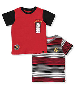 Rocawear Little Boys' 2-Pack T-Shirts (Sizes 4 – 7) - CookiesKids.com