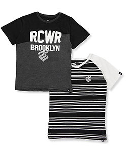 Rocawear Big Boys' 2-Pack T-Shirts (Sizes 8 – 20) - CookiesKids.com