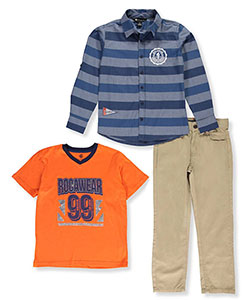 Rocawear Big Boys' 3-Piece Outfit (Sizes 8 – 20) - CookiesKids.com