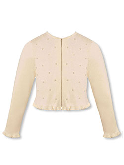 "American Princess Little Girls' Toddler ""Pearl Rain"" Shrug (Sizes 2T – 4T) - CookiesKids.com"