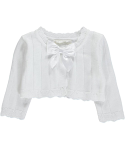 "American Princess Baby Girls' ""Quinn"" Shrug Cardigan - CookiesKids.com"