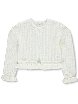 "American Princess Little Girls' Toddler ""Ruffled Knit"" Shrug (Sizes 2T – 4T) - CookiesKids.com"