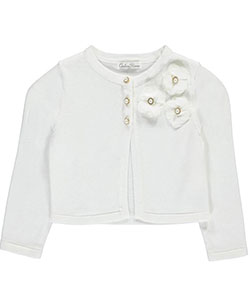 "Couture Princess Little Girls' Toddler ""Bejeweled Chiffon"" Shrug (Sizes 2T – 4T) - CookiesKids.com"