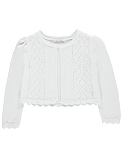 "Couture Princess Little Girls' ""Chevron Crochet"" Shrug (Sizes 4 – 6X) - CookiesKids.com"