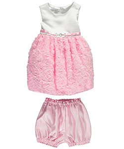 "American Princess Baby Girls' ""Rose Garden"" Dress with Diaper Cover - CookiesKids.com"