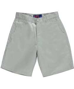 Pacific Blue Little Boys' Twill Shorts (Sizes 4 – 7) - CookiesKids.com