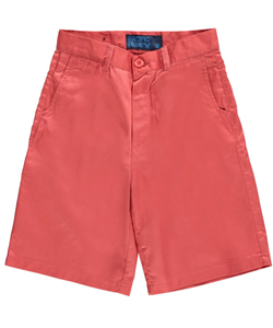 Pacific Blue Big Boys' Secret Pocket Twill Shorts (Sizes 8 – 20) - CookiesKids.com