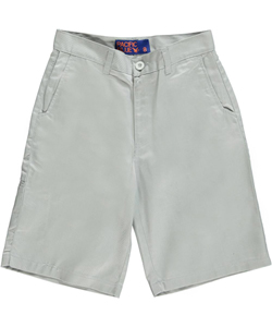 "Pacific Blue Big Boys' ""Secret Pocket"" Slim Fit Shorts (Sizes 8 – 20) - CookiesKids.com"