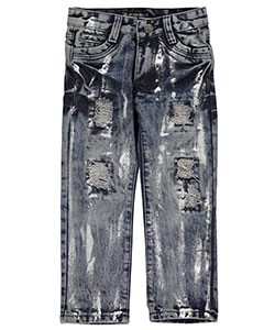 "Seven Souls Little Boys' ""Silver Shower"" Slim Jeans (Sizes 4 – 7) - CookiesKids.com"