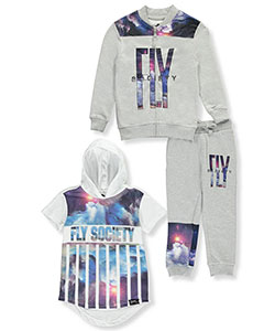 Fly Society Little Boys' 3-Piece Outfit (Sizes 4 – 7) - CookiesKids.com