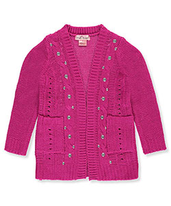 Pink Angel Little Girls' Toddler Cardigan (Sizes 2T – 4T) - CookiesKids.com