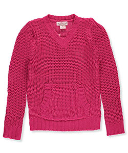 Pink Angel Big Girls' Sweater (Sizes 7 – 16) - CookiesKids.com