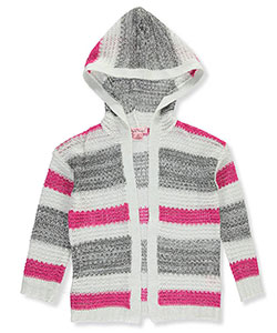 Pink Angel Big Girls' Hooded Cardigan (Sizes 7 – 16) - CookiesKids.com