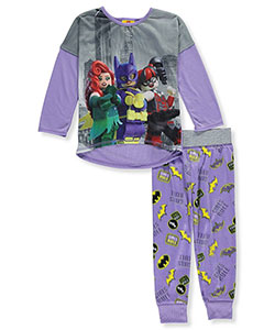 Lego Batman Little Girls' 2-Piece Pajamas (Sizes 4 – 6X) - CookiesKids.com