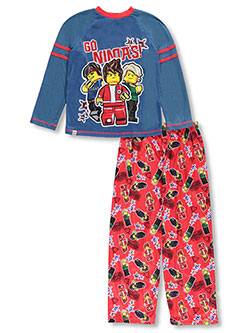 Lego Ninjago Big Boys' 2-Piece Pajamas (Sizes 8 – 20) - CookiesKids.com