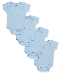 Sweet & Soft Unisex Baby Sleeveless 4-Pack Bodysuits - CookiesKids.com