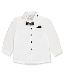 Kardashian Kids Baby Boys' Dress Shirt with Bowtie - CookiesKids.com