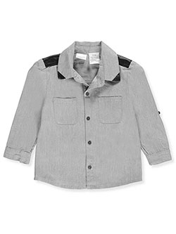 Kardashian Kids Baby Boys' Button-Down Shirt - CookiesKids.com